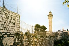 Muslim quarter. Jerusalem Royalty Free Stock Image