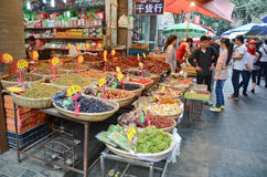 Muslim quarter of Xian Royalty Free Stock Photos