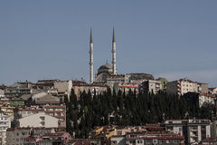 Muslim religious places of worship. Mosque in Istanbul, Muslim religious places of worship stock images