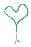 Muslim rosary beads Royalty Free Stock Photos