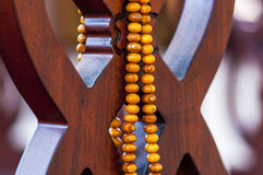 Muslim rosary beads Stock Photography
