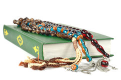 Muslim rosary beads and Quran Royalty Free Stock Image