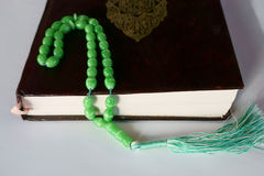 Muslim rosary Stock Image