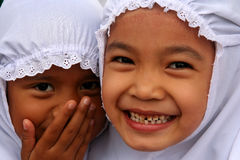 Muslim sisters Royalty Free Stock Image
