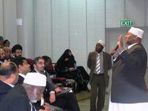 Muslim speaker Stock Images