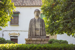 Muslim statue in cordoba Stock Photos