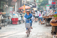 Muslim Street in Xian, China Stock Photography