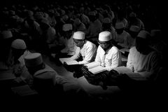 Muslim students stock photography