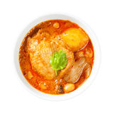 Muslim style chicken and potato curry Stock Photo