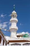 Muslim temple, Leh city in Ladakh, India Stock Image