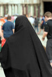 Muslim Traditional Woman - Back view Stock Images