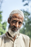 Muslim tribal man wearing Stock Images