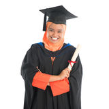Muslim university student graduate Royalty Free Stock Image