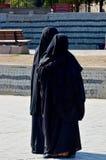 Muslim veiled woman Stock Photos
