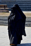 Muslim veiled woman Stock Images