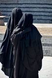 Muslim veiled woman Stock Photo