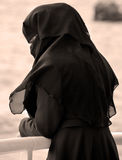 Muslim veiled woman Royalty Free Stock Images