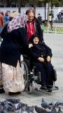 Muslim veiled women Royalty Free Stock Photos