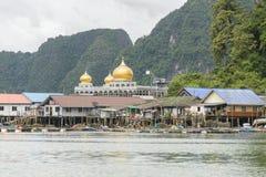 Muslim Village Pang Nga Bay, Thailand Stock Image