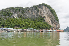 Muslim Village Pang Nga Bay, Thailand Stock Photography