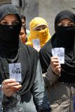 Muslim Voter in India Stock Images