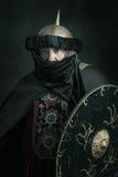 Muslim warrior Stock Photo