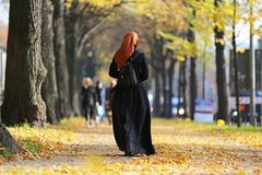 Muslim_woman imagens de stock royalty free