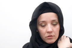 Muslim woman Royalty Free Stock Photography
