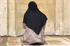 Muslim woman royalty free stock photos