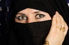 Muslim woman Stock Image