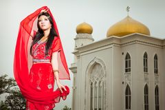 Muslim woman Royalty Free Stock Images