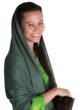 Muslim Woman With A Brown Purse VI Royalty Free Stock Photography