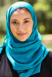 Muslim woman closeup Royalty Free Stock Image