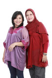 Muslim woman with her daughter Royalty Free Stock Photos