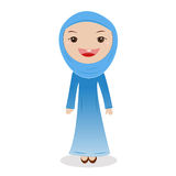 Muslim Woman on hijab. Stock Photo