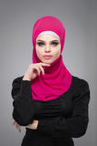 Muslim woman in hijab. Stock Photos