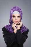 Muslim woman in hijab. Royalty Free Stock Photography