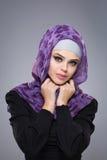 Muslim woman in hijab. Stock Photos