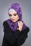 Muslim woman in hijab. Royalty Free Stock Photo