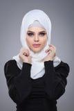 Muslim woman in hijab. Royalty Free Stock Image