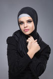 Muslim woman in hijab Royalty Free Stock Photos