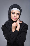 Muslim woman in hijab Stock Photos