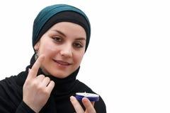 Muslim woman makeup Royalty Free Stock Photo