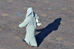 Muslim woman, Marrakech Stock Photography