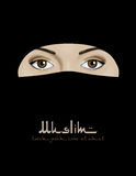 Muslim woman in niqab vector Stock Photo