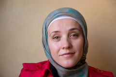 Muslim woman portrait Royalty Free Stock Photo