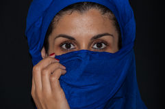 Muslim woman portrait Stock Photography