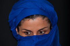 Muslim woman portrait Royalty Free Stock Images