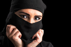 Muslim woman portrait Royalty Free Stock Photo
