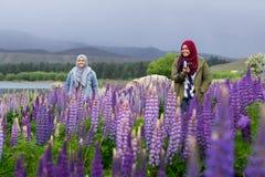 Free Muslim Woman Traveller Stock Image - 182344081